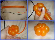 Learn Balloon Modelling, Balloon Twisting, Balloon Animals, Balloon Art, Balloon Hat, Party Balloon: How to make a Balloon Pumpkin Watch