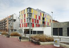 16 social housing by ONL, arquitectura _ Granollers. Barcelona, Spain
