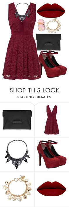 """""""Untitled #97"""" by lugavicaida ❤ liked on Polyvore featuring Givenchy, Free People, Forever 21 and jane"""