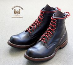 MANSWAY BOOTS MADE WITH DRESS BROWN LEATHER www.mansway.com
