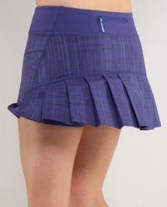 Lulu run skirt, for tennis