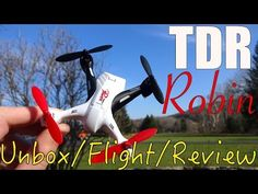 """TDR Robin Pro 5.8G FPV with Built-in 4.3"""" LCD and Pop-up Sunshade Drone - New Top Drone"""