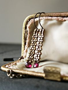 Gold earings, Indian Arabian