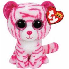 TY Beanie Boos - 15cm Asia the Tiger Soft Toy Rare Beanie Babies f7b991008eb8