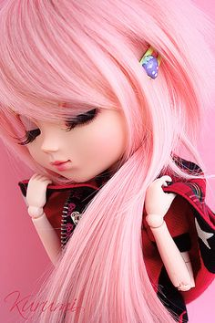 Ready for dreaming Anime Dolls, Blythe Dolls, Girl Dolls, Barbie Dolls, Cartoon Girl Drawing, Girl Cartoon, Pretty Dolls, Beautiful Dolls, Chica Gato Neko Anime