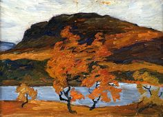 bofransson:  Helmer Osslund - Autumn Landscape in the Mountains