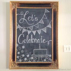 use the Lets Celebrate and banners. Maybe add a crown on the bottom and MPact Cl… use the Lets Celebrate and banners. Maybe add a crown on the bottom and MPact Clubs Chalkboard Party, Chalkboard Doodles, Blackboard Art, Kitchen Chalkboard, Chalkboard Decor, Chalkboard Drawings, Chalkboard Print, Chalkboard Lettering, Chalkboard Designs