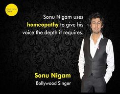 Bollywood singer Sonu Nigam uses Homeopathy Sonu Nigam, Homeopathic Medicine, Homeopathy, Bollywood, The Cure, Remedies, Singer, Celebrities, Instagram Posts