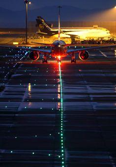 Night flight - Yutaka Sasaki