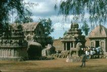 India, Junio 1988. Templo de Tamil Nadu.