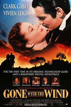 Gone with the Wind (1939) Original R98 One-Sheet Movie Poster