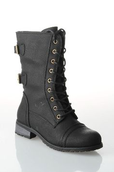 Boots Up to 80% Off - Beyond the Rack Timberly Lace-Up (black)