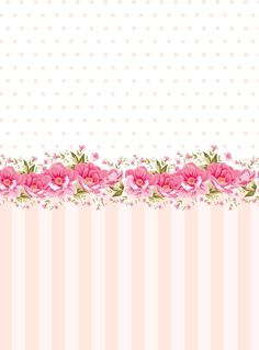 Smile Wallpaper, Flowery Wallpaper, Shabby Chic Wallpaper, Pink Wallpaper Iphone, Rose Wallpaper, Cellphone Wallpaper, Binder Cover Templates, Notebook Cover Design, Baby Girl Patterns