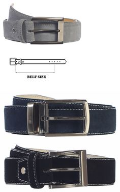 Belts 155187: Gift Men S Premium Handmade Genuine Suede Gray Belt With Single-Prong Buckle -> BUY IT NOW ONLY: $59.99 on eBay!