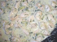Kapros-tejszínes csirkemell egyszerűen Recept képpel - Mindmegette.hu - Receptek Potato Salad, Main Dishes, Food And Drink, Diet, Chicken, Ethnic Recipes, Minden, Fitness, Mushroom Gravy