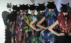 Ivana Pilja new collection 2012 Fashionclas Maastricht - Ivana Pilja's Cicada outfits