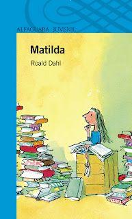 Matilda é unha rapaciña extraordinaria...
