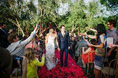 [ wedding decor with flowers ]