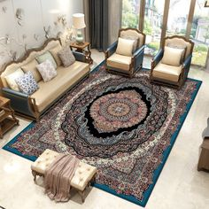 Iran Persian Carpet Livingroom Large Rectangle Carpet Bedroom Sofa Coffee Table Rug Study Room Floor Mat Home Decorative Rugs, Your bed room flooring is important. Carpet Diy, Best Carpet, Modern Carpet, Rugs On Carpet, Carpet Types, Carpet Flooring, Bedroom Sofa, Bedroom Carpet, Living Room Carpet
