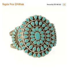 Southwestern Style Faux Turquoise Cuff Bracelet ❤ liked on Polyvore featuring jewelry, bracelets, adjustable cuff bracelet, vintage bangle, turquoise bangle, vintage turquoise jewelry and turquoise cuff bracelet