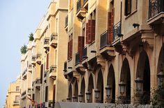 Lebanon - View of Beirut,  لبنان by Ashraf Khunduqji, via Flickr