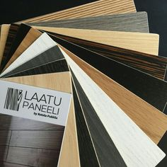 Laatupaneeli interior panels are available in several different colour and material options. The newest ones are birch veneers! Check www.fi for more pictures and information More Pictures, Different Colors, Birch, Colour, Texture, Wood, Interior, Check, Crafts