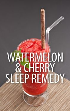 Get natural sleep solutions that will keep you having sweet dreams, including Dr Oz's new Watermelon Cherry Drink Recipe or Kefir Milk to stay asleep. http://www.recapo.com/dr-oz/dr-oz-natural-remedies/dr-oz-watermelon-cherry-drink-recipe-kefir-milk-stay-asleep/