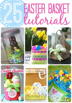 25 Remarkable Easter Basket Tutorials
