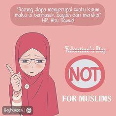 """""""Orang Islam tidak anti kasih sayang. Bahkan islam mengajarkan agar kita berkasih sayang. Tuhan kita pun Maha Pengasih dan Maha Penyayang.  Tapi ada 365…"""""""