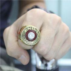 Custom 1983 Philadelphia 76ers Basketball World Championship Ring