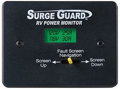 TRC Surge Guard Remote Power Monitor LCD Display. #Plugs into remote port on Surge Guard models 34520 and 34560 to conveniently and remotely #monitor RV electrica...