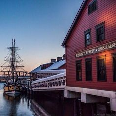 Boston Tea Party Museum and ship