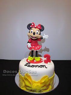 Doces Opções: A Minnie no 3º aniversário da Leonor                              …