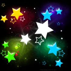 Neon Backgrounds for Girls   Free FLASHING NEON STARS.gif phone wallpaper by shawtylow