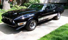 1973 Mustang Mach 1...