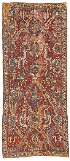 """Caucasian """"dragon"""" rug, 18th century"""