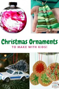 Decorate the Christmas tree with these homemade ornaments for kids to make. These Christmas ornaments are so cute and fun to make with the kids this holiday, as well as great to give as homemade gifts! Salt dough ornaments, paper plate ornaments, air dry clay ornaments, and everything in between! Dough Ornaments, Homemade Ornaments, Christmas Ornaments To Make, Homemade Christmas, Homemade Gifts, Christmas Tree Decorations, Christmas Crafts, Preschool Arts And Crafts, Easy Arts And Crafts