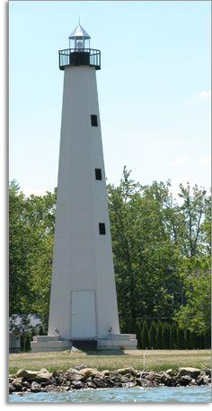 Behm's Lighthouse (Grimm Memorial) on Grand Lake St. Celina Ohio, Mountain Waterfall, Ohio Usa, Grand Lake, Visitors Bureau, Beacon Of Light, April 19, Light House, Windmill