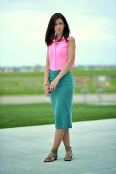 pop of pink // lady jane