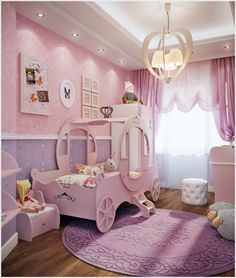 10 Cute Ideas To Decorate A Toddler Girlu0027s Room 11