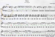 Imagine Dragons — Shots Piano Sheets