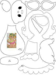 Scrapbook paper piecing patterns – DIY in 2020 Scrapbook Patterns, Scrapbook Embellishments, Paper Piecing Patterns, Felt Patterns, Scrapbook Paper Crafts, Scrapbook Cards, Felt Dolls, Paper Dolls, Punch Art Cards