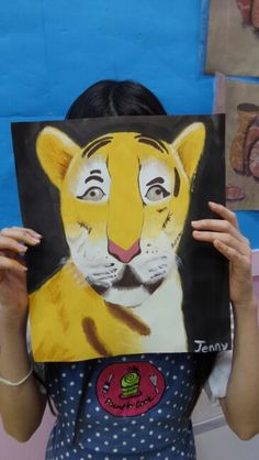 This tiger ! but it has hand. by  Jenny