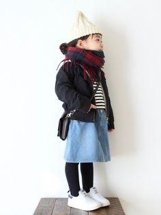 春物着せたいのに、寒くて寒くて❄︎❄︎ 代わり映えしなくてごめんなさい(´・_・`)