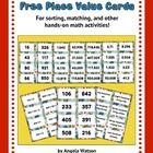 These free place value cards can be used to help students practice using standard form/base ten numerals, expanded form, and word names/number name...