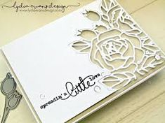 stampin up wedding cards rose Stampin Up, Wedding Anniversary Cards, Wedding Cards, Scrapbook Cards, Scrapbooking, Stamping Up Cards, Die Cut Cards, Sympathy Cards, Flower Cards