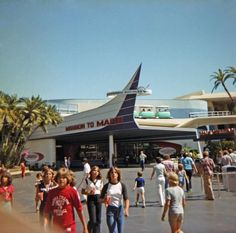 "Today in Disneyland history: November 1992 - Mission to Mars closed. Formerly, it was called ""Flight to the Moon"" Retro Disney, Old Disney, Disney Love, Disney Magic, Disney Stuff, Disneyland History, Disneyland Secrets, Vintage Disneyland, Disneyland California"