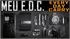 Meu EDC Urbano (que cabe na carteira!) - Everyday Carry (E.D.C.)