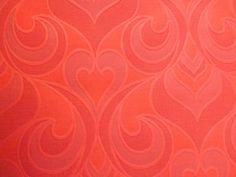 Pink orange coral salmon wallpaper heavyweight textured by mumxie