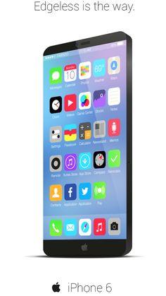 iPhone 6 iOS 8 concept